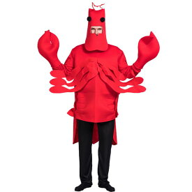 面白い コスプレ ハロウィン ロブスター 着ぐるみ おもしろ コスチューム カニ エビ 衣装 おもしろい 仮装