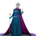 雪の女王ドレスレディース衣装コスプレプリンセスコスチュームハロウィンコス女神ヘルセーエルサなりきり仮装