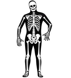 骸骨 全身 タイツ コスプレ 衣装 コスチューム がいこつ 大人 メンズ