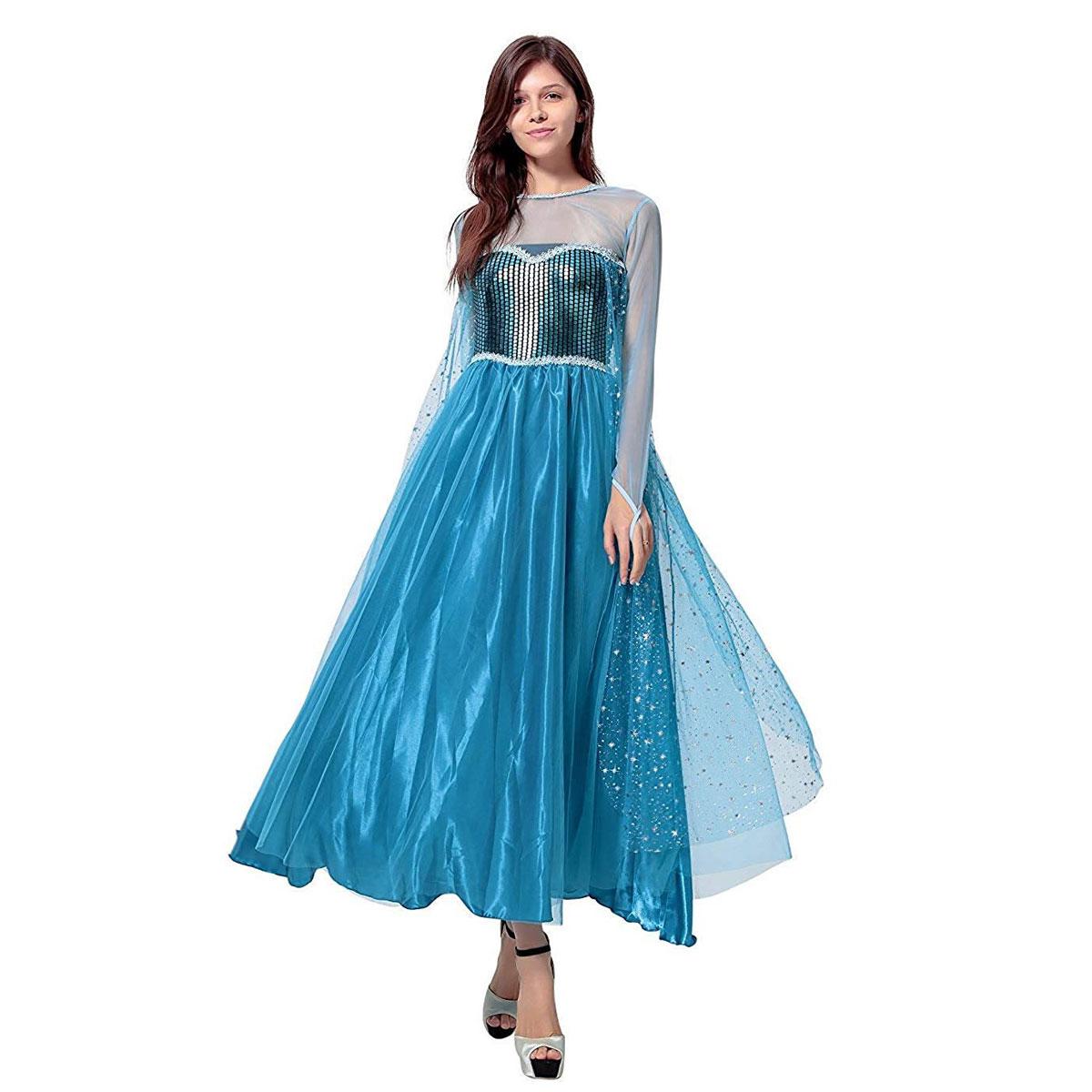 アナと雪の女王 エルサ ドレス アナ雪 コスプレ プリンセス コスチューム 衣装