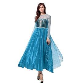 エルサ ドレス 大人 コスプレ アナ 雪の女王 プリンセス コスチューム 衣装