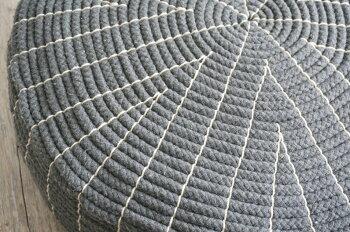 【予約販売中】【送料無料】座布団フロアクッション円形クッションチェアチェアーサークル椅子チェア贈物プレゼントファブリックざぶとんザブトン床枕まくら