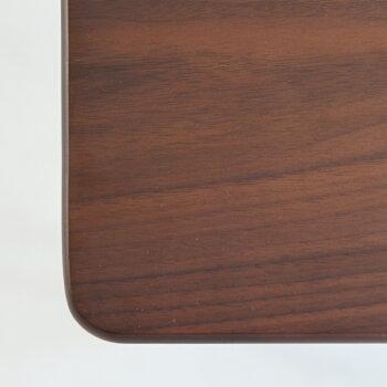 【送料無料】デスク机横幅70cmシンプルブラウン脚学習机ワークデスクオフィス新生活カフェおしゃれ塾勉強机emobrancheエモブランシェ家具インテリアリビングEMT-3054BRemoSimpleDesk700ウォールナット天然木インテリア家具