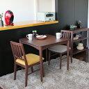 【45%OFF!!在庫限りSALE】【【送料無料】ダイニングテーブル 2人掛け 75cmサイズ 天然木 シンプル ブラウン 新生…