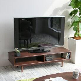 横幅120cm テレビ台 テレビボード AVラック シアタールーム 収納台 収納 TV 片付け 横長 片付け 楽 emo TV Board 1200 EMK-3143BR