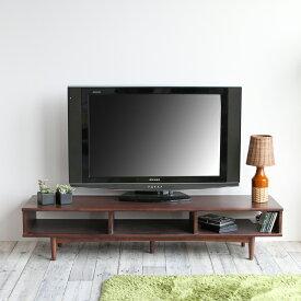 横幅150cm テレビボード AVラック シアター ラック テレビ台 収納 リモコン オーディオ ゲーム 片付け 配線 楽 おしゃれ 横長 低い emo TV Board 1500 EMK-3144BR