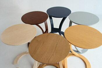 サイドテーブル北欧おしゃれ木製ロータスベッドナイトテーブル丸ソファテーブル