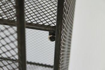 【送料無料】収納ケースメッシュキャビネット棚ラック収納棚スチール網ブラック黒金属ガンケースフィギュア本棚チェストリビング収納コレクションキャビネットrackcabinet網シェルフボード見せる収納