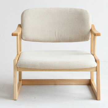 【送料無料】LotonArmChair座椅子チェアイス椅子肘おき敬老プレゼント天然木木家具インテリア床ロースタイル高さ調整