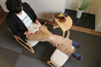 【送料無料】LotonChair座椅子チェアイス椅子スタッキング可能敬老プレゼント天然木木家具インテリア床ロースタイル高さ調整和室和風日本ジャパン茶室お茶会法事