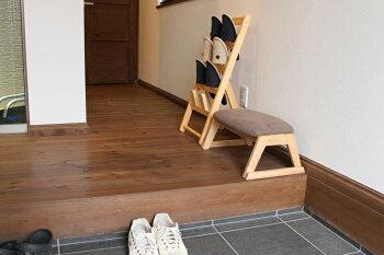 【送料無料】LotonStool座椅子チェアスツールオットマン腰かけスタッキングイス椅子肘おき敬老プレゼント天然木木家具インテリア床ロースタイル高さ調整