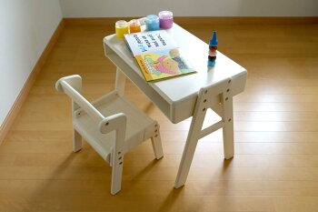 【送料無料】Picc'sStudySetこどもチェア子供椅子子どもイスデスクテーブル【na-KIDS【nakids】【Picc's】【スタディーセット勉強机お絵描きお片づけ天然木学習プレゼントお祝い幼稚園入学