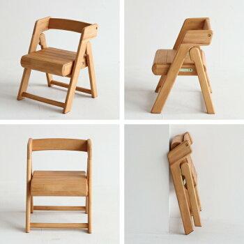 【新商品5/下旬入荷Px10倍】イスチェア折りたたみ可能収納片付け子供na-niコンパクト子供リビングプレゼント木製NAC-2990NA|NAC-2990IVna-niFoldingChairキッズチェアー木製天然木学習チェア子供椅子子供いすキッズチェアー子供家具かわいい