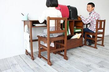 【送料無料】notecoチェア椅子イスキッズチェアこども椅子キッズチェアーこどもいすこども用学校子どもレトロ子供部屋プレゼントリビング学習教室高さ変更天然木かわいいデスクレトロブラウン兄弟姉妹親子NOC-2933BR
