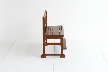 【送料無料】notecoベンチ2人掛け横幅85cm椅子並んで使えるワイドイスキッズこども椅子学校子どもレトロ子供プレゼントリビング学習教室高さ変更天然木かわいいソファーチェアレトロブラウン兄弟姉妹親子NOC-2934BR