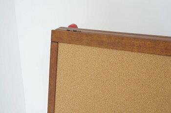 【送料無料】notecoイーゼル黒板お絵かき落書きチョークコルクコルクボード似顔絵作品展示おりたたみアトリエ画伯こども記念誕生日お店看板玄関キッズ子どもプレゼント誕生日天然木お祝いブラウンNOR-2938BR