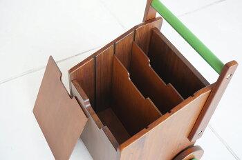 【送料無料】noteco線引きボックス本棚収納木製絵本ラックマガジンラックお手伝い持ち運びおもちゃ収納本立て絵本棚本ラック雑誌リビング収納キッズ子どもプレゼント天然木お祝いブラウン兄弟親子ラインNOR-2940BR