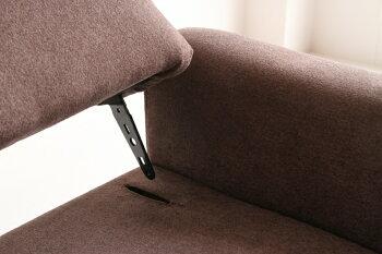 1人掛けソファー1Pソファーsofaポケットコイル脚取り外し可能家具椅子チェアカフェくつろぎおしゃれかわいい引越しリビング横幅74cm1人用肘置き肘掛けブルーブラウン固めしっかり座面SF-3078BLGRSF-3078MBR
