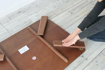 ウォールナット折りたたみテーブルちゃぶ台幅1050|折り畳みおしゃれ木製完成品リビングシンプル折れ脚テーブルインテリア座卓コーヒーテーブルローテーブルロータイプロー一人暮らしリビングテーブル四角センター送料無料コンパクト収納おりたたみ