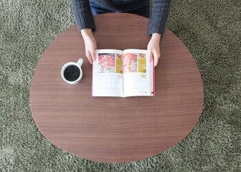 あす楽年間500本売上ちゃぶ台折りたたみ丸80cmウォールナットテーブル折り畳み木製テーブルセンターテーブルローテーブル|丸テーブル円卓座卓ロータイプロー一人暮らしおしゃれセンター円形インテリアリビングコンパクト収納おりたたみ送料無料