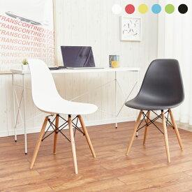 ダイニングチェア イームズチェア リプロダクト ジェネリック 完成品 椅子 チェアー イス チェア 木製 西海岸 インテリア カフェ風 北欧 おしゃれ かわいい 白 ホワイト ダイニング用 食卓用 シンプル ブルックリン eames dsw