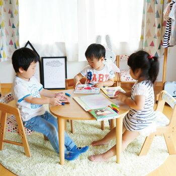 10P03Sep16【送料無料】机デスクテーブル子供60cmna-niお絵かきおもちゃ勉強子供リビング子育てプレゼント送り物誕生日入学木製NAT-2874Table