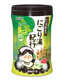 【医薬部外品】いい湯旅立ちボトル にごり湯紀行 森の香り 600g 白元アース