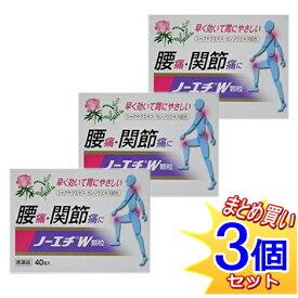 【第(2)類医薬品】【3個セット】ノーエチW 40包x3個/小型宅配便