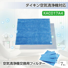 KTJBESTF 空気清浄機交換用フィルター プリーツフィルター HEPAフィルター 集塵フィルター KAC017A4(KAC006A4の後継品)(5枚入)互換品