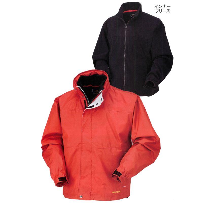 着脱式インナーフリースで気候の変化に対応できるインナーフリース使いの3WAYの多機能防寒コート!