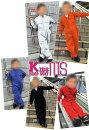 ナチュラル素材&イベント・ユニフォームに最適なキッズサイズジャンプスーツ【KURE/クレヒフク111S】【綿100%】【長袖つなぎ】【子供用/キッズサイズ】