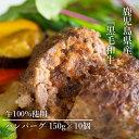 鹿児島県産黒毛和牛100%ハンバーグ【送料込】
