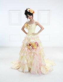 ドレス ウェデイングドレス 送料無料レンタルドレス ドレス結婚式ドレスレンタル カラードレス花嫁 bck-3