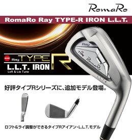●RomaRo/ロマロ 2017Ray Type R IRON L.L.Tレイ タイプ R アイアン L.L.Tスチールシャフト 6本セット(#5-PW)