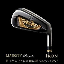 ●MAJESTY Royale Ironマジェスティ ロイヤル アイアン 5本セット(#7,8,9,10,PW)MAJESTY LV530シャフト