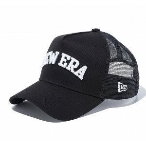 ●NEWERA/ニューエラ【ゴルフ】 9FORTY A-Frame トラッカー NEW ERA ブラック × ホワイト 11598166