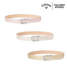 ●2020 S/S Callaway/キャロウェイ ウェア【レディース】セレーションベルト 241-0192800