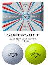 ●キャロウェイ ボール(2017)SUPERSOFT/スーパーソフト ボール 1ダース