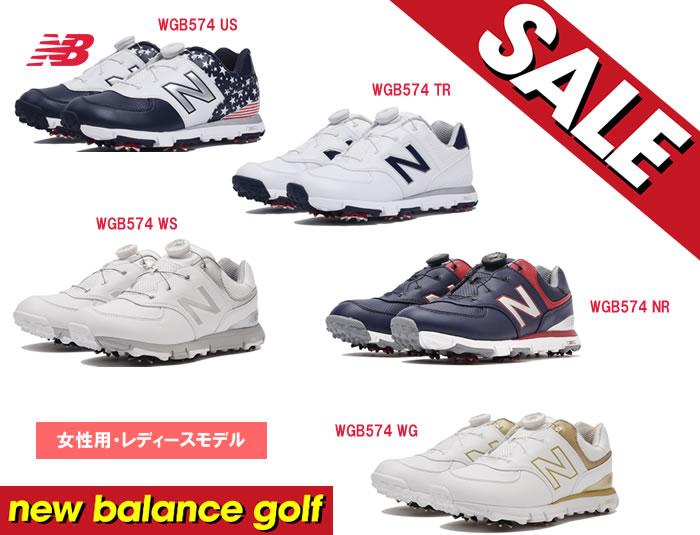 【SALE!!】new balance/ニューバランスゴルフシューズ[レディース]WGB574 US/TR/WS/NR/WG