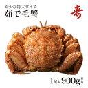 ボイル 毛ガニ 900g前後 北海道産 冷蔵 海鮮 毛蟹 毛がに 堅ガニ かに 蟹 内祝い ギフト