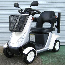 【送料無料】中古 ホンダモンパル ML200 2006年式 新品バッテリーに交換済み!ステッキホルダー付き♪(シニアカー/電動カート/電動車いす/ハンドル型電動車いす/車椅子)【中古】