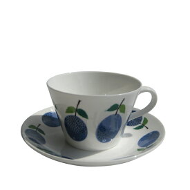 GUSTAFSBERG(グスタフスベリ) PRUNUS プルヌス コーヒーカップ&ソーサー / 北欧食器 復刻版 送料無料