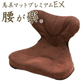 【500円クーポン】 「馬具マットプレミアムEX」【姿勢 腰痛 クッション オフィス 腰痛対策 骨盤クッション 猫背 イス 椅子 馬具クッション 敬老の日 ギフト】