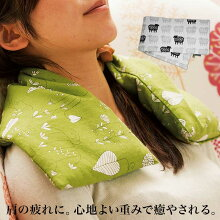 肩ホットパック「麦のホットパックラベンダー」【肩こり温めレンジ冷え性】