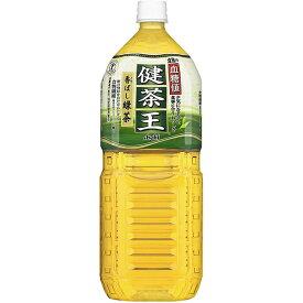 【発T】カルピス株式会社〜食後の血糖値が気になる方に〜健茶王 香ばし緑茶 2Lペットボトル×12本セット(特定保健用食品)【この商品は注文後のキャンセルができません】
