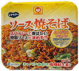 日清オイリオ株式会社・東洋水産共同開発レナケアー たんぱく焼きそば 107.8g×60個セット(5ケース)マルちゃんタンパク調整焼きそば