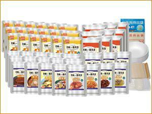 アルファフーズ株式会社美味しい防災食ファミリーセット(保存水無)FS34(商品発送まで6-10日間程度かかります)