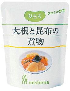 三島食品株式会社りらく 大根と昆布の煮物100g × 15×4個【JAPITALFOODS】
