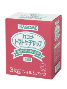 カゴメ株式会社カゴメ 国産トマト100%使用トマトケチャップ 3kg×4個セット