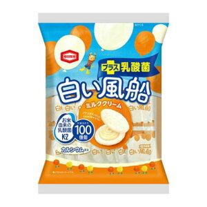 亀田製菓株式会社白い風船 ミルククリーム(18枚入)×12個セット【北海道・沖縄は別途送料必要】